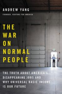 The War on Normal People Book Jacket