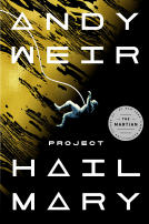 Project Hail Mary Book Jacket